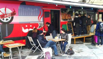Des étudiants lancent Auparager, un food truck anti gaspillage